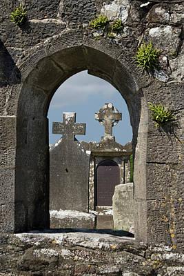 County Mayo Photograph - Ireland, County Mayo, Burrishoole Abbey by Jaynes Gallery