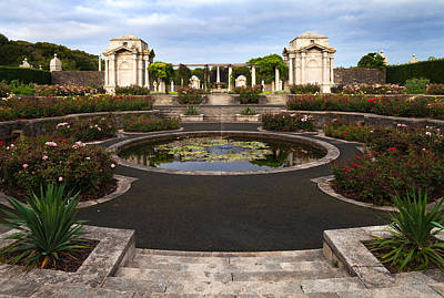 Irish National War Memorial Gardens Art Print by Panoramic Images