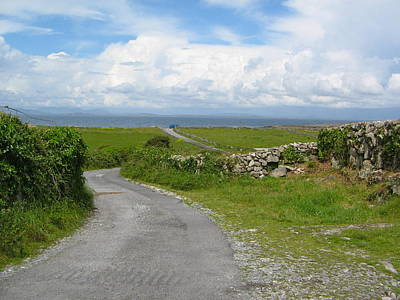 Photograph - Irish Road To The Sea by Denise Mazzocco