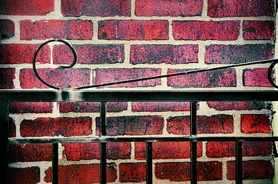 Photograph - Iron And Brick by JAMART Photography