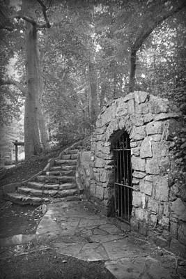 Photograph - Iron Door In A Garden by Kelly Hazel