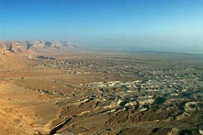 Israel, Judean Desert, Dead Sea Art Print by David Noyes
