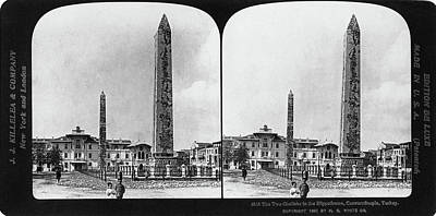 Obelisk Painting - Istanbul Obelisks, 1901 by Granger