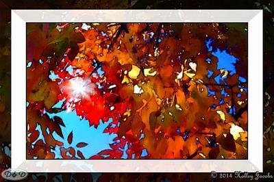 Mixed Media - Italian-autumno by Holley Jacobs