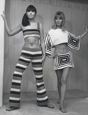 Italian Knitwear Fashion Show In Londoan Art Print by Retro Images Archive