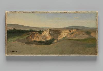 Italian Landscape Print by Camille Corot