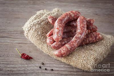 Italian Sausage Art Print by Sabino Parente