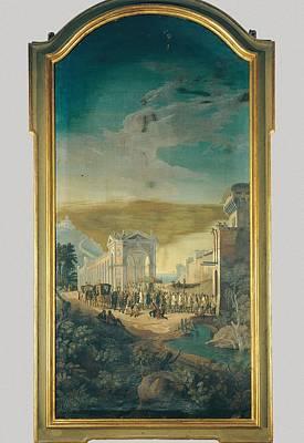Italy, Emilia Romagna, Bologna, Palazzo Art Print