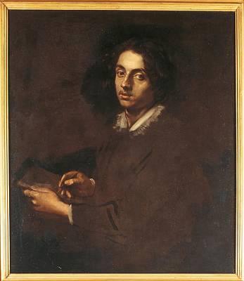 Self-portrait Photograph - Italy, Lazio, Rome, National Gallery by Everett
