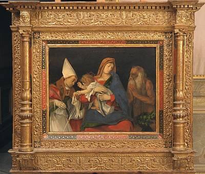 Italy, Lazio,rome, Borghese Gallery Art Print
