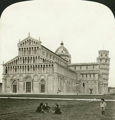 13th Century Painting - Italy Pisa, 1901 by Granger