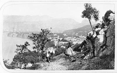 Photograph - Italy Sorrento, C1869 by Granger