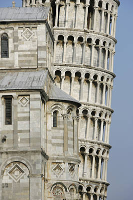Italy, Tuscany, Pisa, Leaning Tower � Art Print by Tips Images