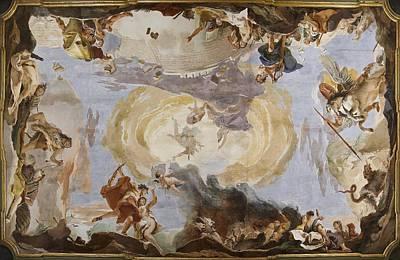 Italy, Veneto, Venice, Palazzo Sandi Art Print