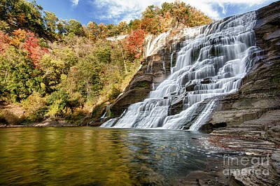 Photograph - Ithaca Falls by Brad Marzolf Photography