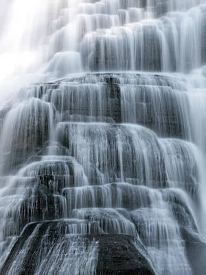 Photograph - Ithaca Water Falls New York Panoramic Photography by Paul Ge