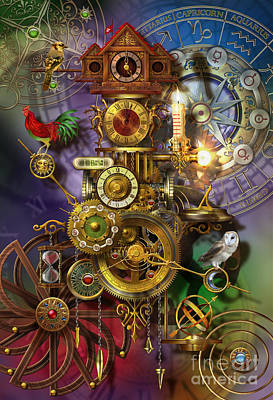Maiden Digital Art - It's About Time by Ciro Marchetti