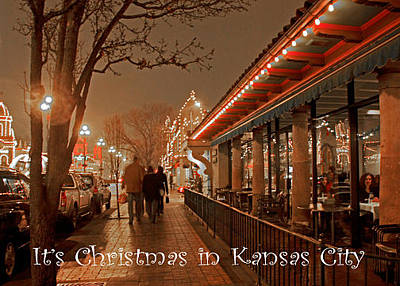 Photograph - It's Christmas In Kansas City by Deb Buchanan