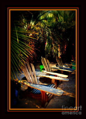 Tropical Photograph - It's Margarita Time In Paradise by Susanne Van Hulst