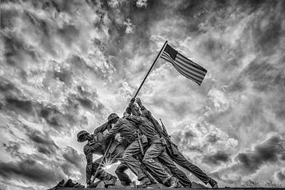 Photograph - Iwo Jima Memorial by Susan Candelario