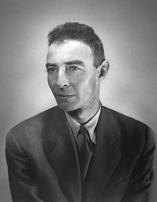 Photograph - J. Robert Oppenheimer, American by Science Source