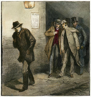 Alleyway Painting - Jack The Ripper by Granger