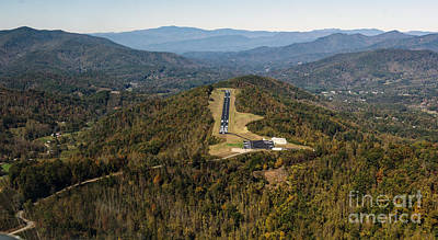 Cullowhee Photograph - Jackson County Airport In Cullowhee Nc by David Oppenheimer