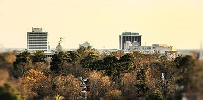 Photograph - Jackson Skyline by Jim Albritton