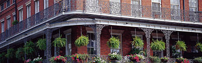 French Quarter Window Photograph - Jackson Square, French Quarter, New by Panoramic Images