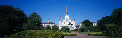 St Louis Square Photograph - Jackson Square, New Orleans, Louisiana by Panoramic Images