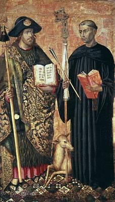 Hagiography Photograph - Jacomart, Jaume Ba��, Called 1410-1461 by Everett