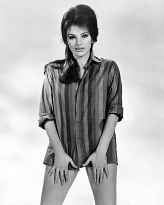 Jacqueline Photograph - Jacqueline Bisset by Silver Screen