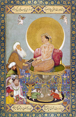 Painting - Jahangir (1569-1627) by Granger