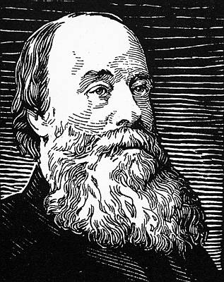 Prescott Drawing - James Prescott Joule (1818-1889) by Granger