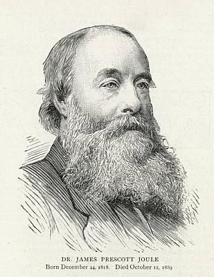 James Prescott Joule (1818-1889) Art Print by  Illustrated London News Ltd/Mar