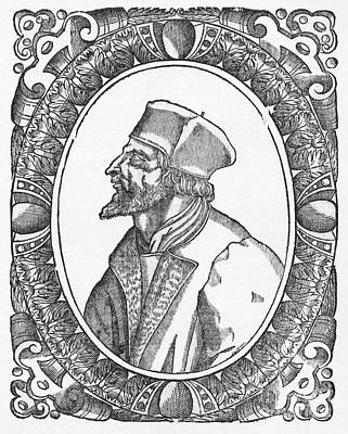 Jan.15th Photograph - Jan Hus, Czech Religious Reformer by Middle Temple Library