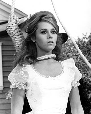 Fonda Photograph - Jane Fonda In Cat Ballou  by Silver Screen
