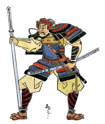 Japan Samurai, C1660 Art Print by Granger