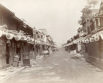 1880s Photograph - Japan Yokohama, 1880s by Granger