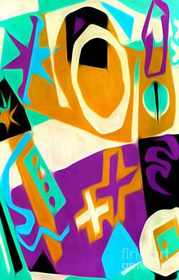 Digital Art - Jazz Art - 01 by Gregory Dyer