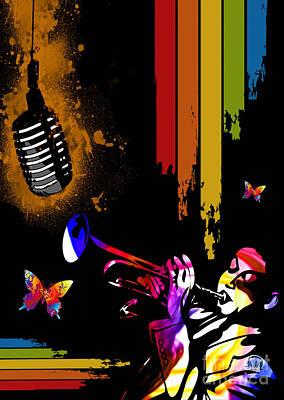 Digital Art - Jazz by Mundo Arte