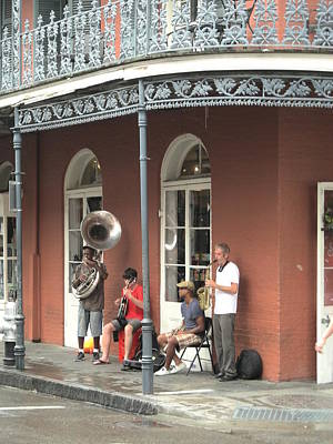 Photograph - Jazz On Royal Street by Brian Hoover