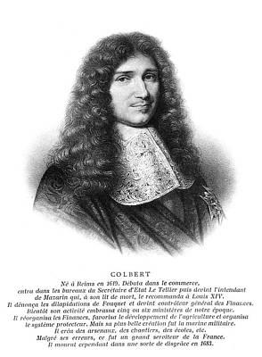Jean-baptiste Colbert (1619-1683) Art Print by Granger