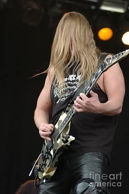Photograph - Jeff Hanneman From Slayer by Jenny Potter