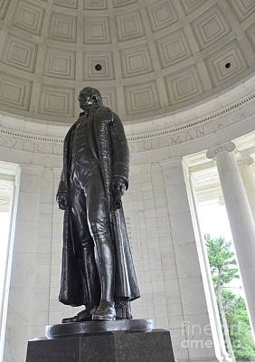 Photograph - Jefferson Memorial # 6 by Allen Beatty