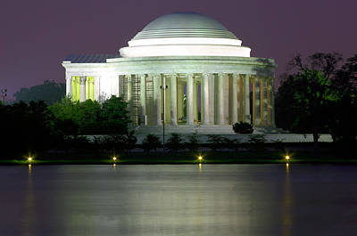 Photograph - Jefferson Memorial by Mary Almond