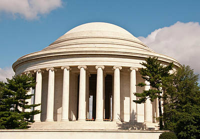 Jefferson Memorial, Washington, Dc Art Print