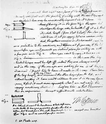 Photograph - Jefferson: Polygraph by Granger