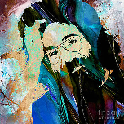 The Grateful Dead Mixed Media - Jerry Garcia by Marvin Blaine