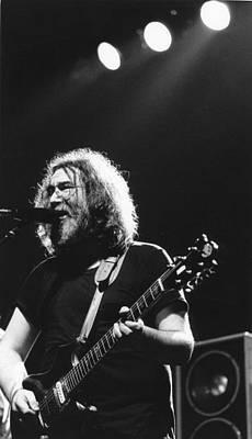 Jerry Garcia Photograph - Jerry Garcia by Nancy Clendaniel